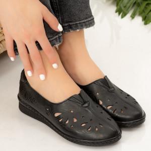 Női fekete Gon cipő