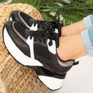 Női fekete Ohy cipők