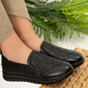 Omia fekete női cipő