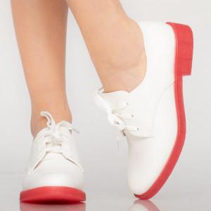 Pantofi casual Arbo albi