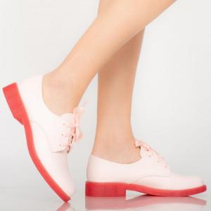 Pantofi casual Arbo roz