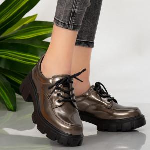 Pantofi casual Ioan gun
