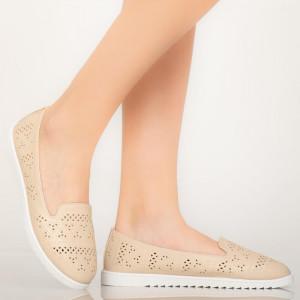 Pantofi casual Tase bej