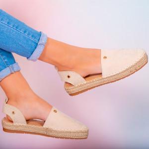 Pantofi dama Heno bej