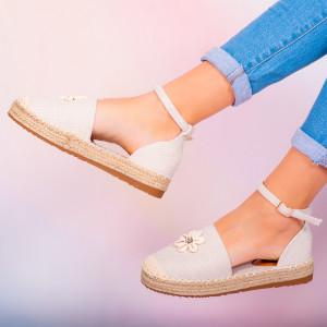Pantofi dama Hust albi