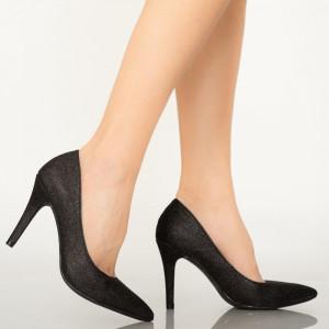Pantofi dama Sure negri