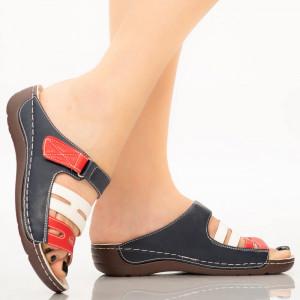 Papuci dama Ruia albastri