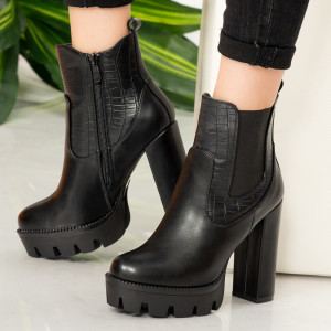 Pay black women's ankle boots
