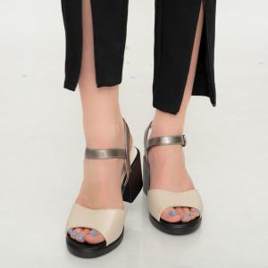 Sandale dama Aft bej