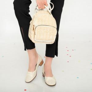 Sandale dama Ahe bej