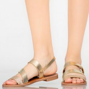 Sandale dama Alia aurii