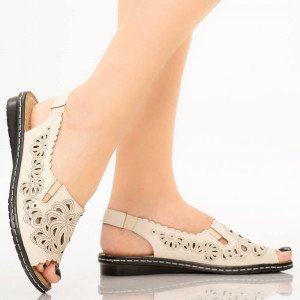 Sandale dama Biru bej