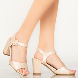 Sandale dama Cany bej