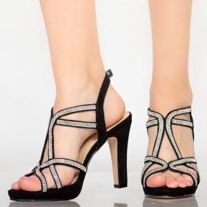 Sandale dama Dian negre