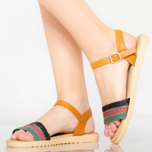 Sandale dama Dispo negre