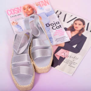 Sandale dama Hace argintii