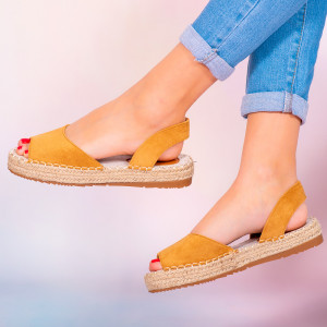 Sandale dama Heto camel