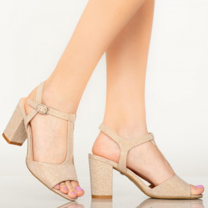 Sandale dama Icray aurii