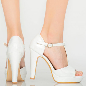 Sandale dama Lyle argintii