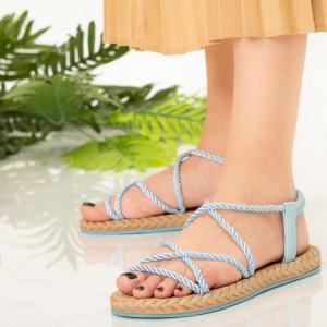 Sandale dama Nalida albastre