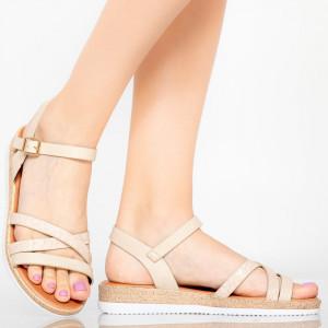Sandale dama Reli bej