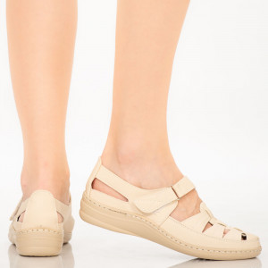 Sandale dama Sama bej