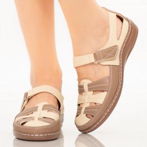 Sandale dama Sama gri