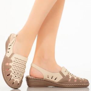 Sandale dama Supy gri