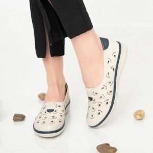 Дамски обувки Има синьо