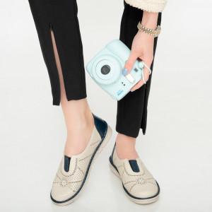 Дамски обувки Afe сини