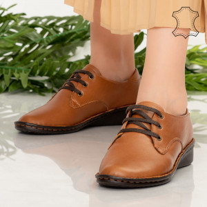 Ini teve természetes bőr cipő