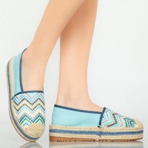 Kék Mony alkalmi cipő