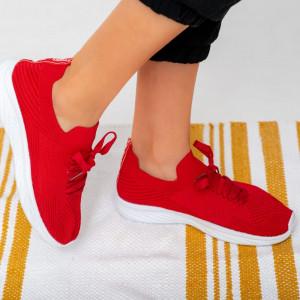 Női piros Nad cipők