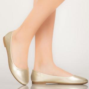 Pantofi casual Jina aurii