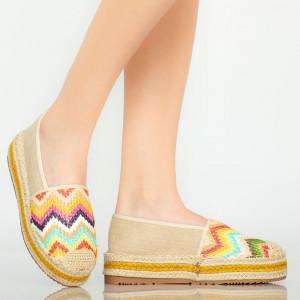 Pantofi casual Mony bej