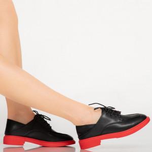 Pantofi casual Strea negri