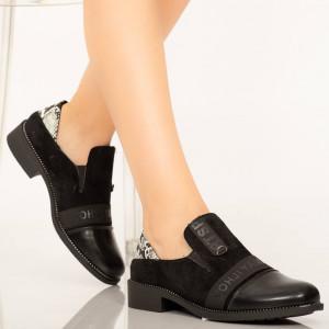 Pantofi dama Boy black