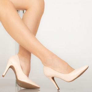Pantofi dama Loga bej