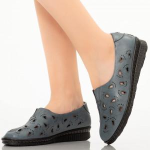 Pantofi dama Lule albastri