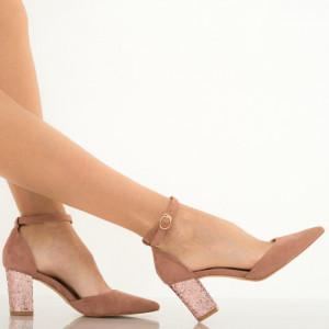 Pantofi dama Mantis roz
