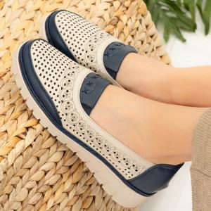 Pantofi dama Noma albastri