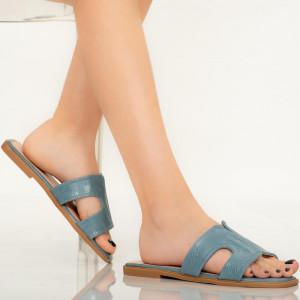 Papuci dama Salit albastri