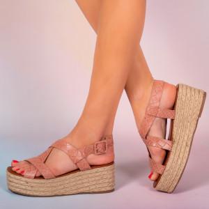 Platforme dama Mofe roz