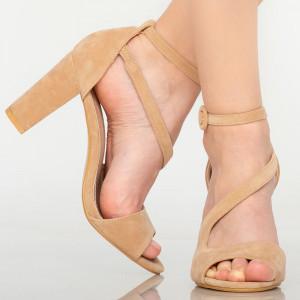Sandale dama Cecil bej