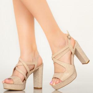 Sandale dama Digo aurii