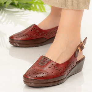 Sandale dama Doka rosii