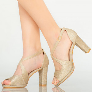 Sandale dama Elio aurii
