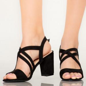 Sandale dama Fitz negre