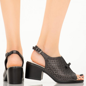Sandale dama Gino negre