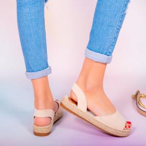Sandale dama Heto bej